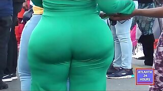 FAT JUICY BOOTY at Orlando Football Classic  !!!!!  WOW  !!!!