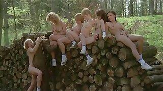 Sechs Schwedinnen auf der Alm (1983) - Spanish Sub
